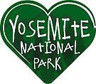 YOSEMITE NATIONAL PARK LOVE HEART EXPLORE NATURE OUTDOORS HIKING by MyHandmadeSigns