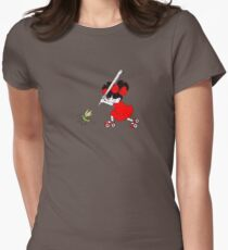 SMASH!!!! Womens Fitted T-Shirt