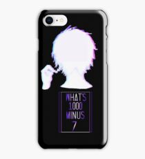 What's 1000 Minus 7 iPhone Case/Skin