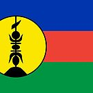 New Caledonia flag Products by Mark Podger
