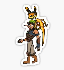 MS Paint Jak and Daxter Sticker