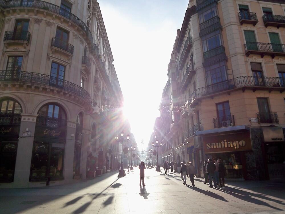 Sunlight in Zaragoza by Ben Oliver