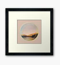 Digital Landscape #4 Framed Print