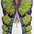 Fibonacci butterfly by federico cortese
