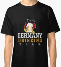 Germany Drinking Team Classic T-Shirt