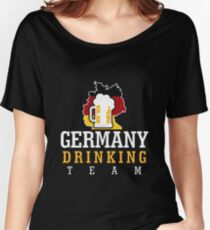 Germany Drinking Team Women's Relaxed Fit T-Shirt