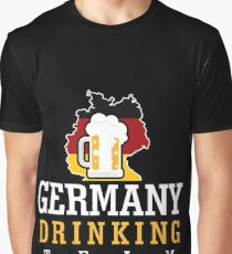 Germany Drinking Team Graphic T-Shirt