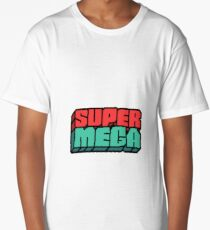 SuperMega Logo Merch Long T-Shirt