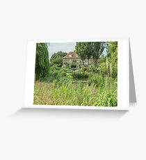 House beside the stream Greeting Card