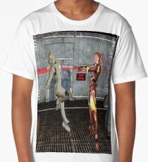 Robot Wars Long T-Shirt