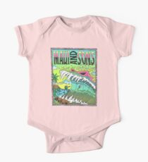 Maui And Sons Tidal Wave One Piece - Short Sleeve