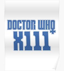 Doctor Who 13 Poster