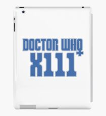 Doctor Who 13 iPad Case/Skin