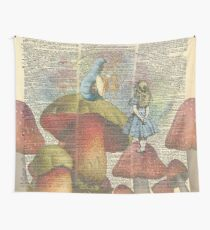 Alice In Wonderland - The Hookah Smoking Caterpillar Wall Tapestry