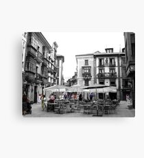 Colourful people Canvas Print