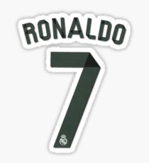 Pegatina Ronaldo 7