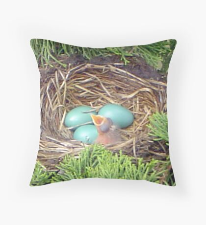 i want my mommy! Throw Pillow