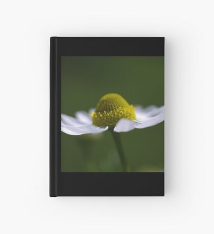 delicate daisy Hardcover Journal