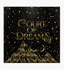 Court of Dreams ACOMAF Photographic Print