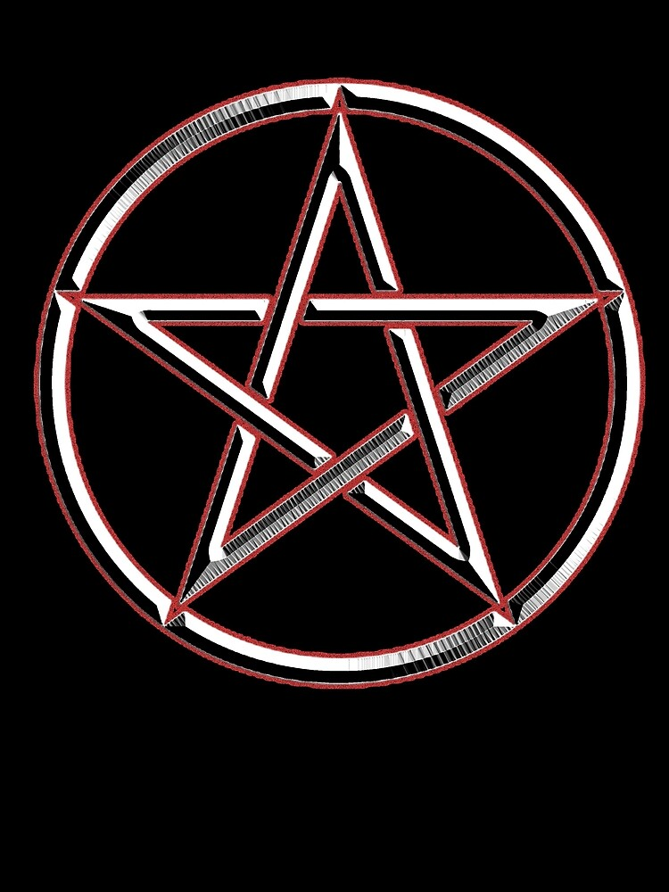 Wicca Witch Wizard Pentacle Modern Pagan Witchcraft Religion