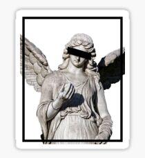 Aesthetic Minimalist Angel Design Sticker
