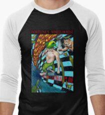 Fortune's Wheelhouse Fool Tabula Mundi Tarot Men's Baseball ¾ T-Shirt