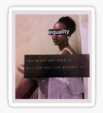 Equality Collage Sticker