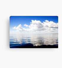 Sea of Glass Canvas Print