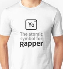 Atomic Symbol for Rapper tshirt T-Shirt