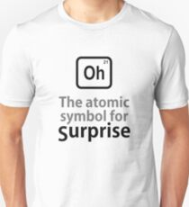Atomic Symbol for Surprise tshirt T-Shirt
