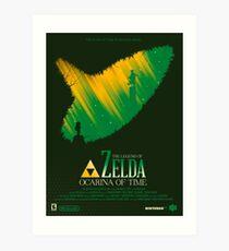 The Legend of Zelda / Movie Poster. Art Print