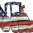 «Equipo de construcción de azadas de pista de cargador de EE. UU.» de Statepallets
