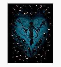 Kingdom Hearts - Feel the Darkness Photographic Print