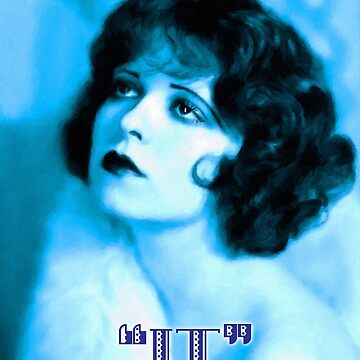 "Clara Bow, the original ""It"" girl by TelestaiPix"