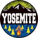 YOSEMITE NATIONAL PARK CALIFORNIA CAMPING OUTDOORS NATURE HIKING 2 by MyHandmadeSigns