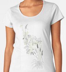 Sacred Swamp/ Pantano Sagrado Women's Premium T-Shirt