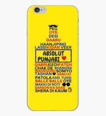 absolut punjabi iPhone Case