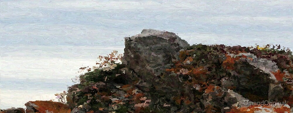 Ragged Rocks by OmandOriginal