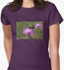 Busy Bee on Purple Flower T-Shirt