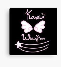 Kawaii Weeaboo Canvas Print