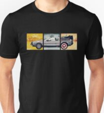 Delorean - Back to the Future Slim Fit T-Shirt