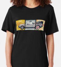 Delorean - Back to the Future Slim Fit T-Shirt