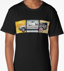 Delorean. Back to the Future Long T-Shirt