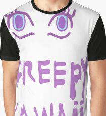 Creepy Kawaii Graphic T-Shirt