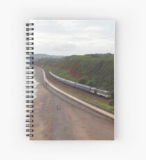 43185 'Great Western' at Langstone Rock. Spiral Notebook