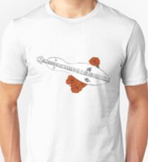Appalachian/Mountain Dulcimer & Roses Unisex T-Shirt
