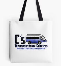C's Transportation Tote Bag