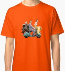 Posterized Roman Holiday Classic T-Shirt