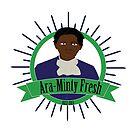 Harriet Tubman: Ara-Minty Fresh by jamdraws