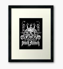 Vintage- Heavy Metal Framed Print